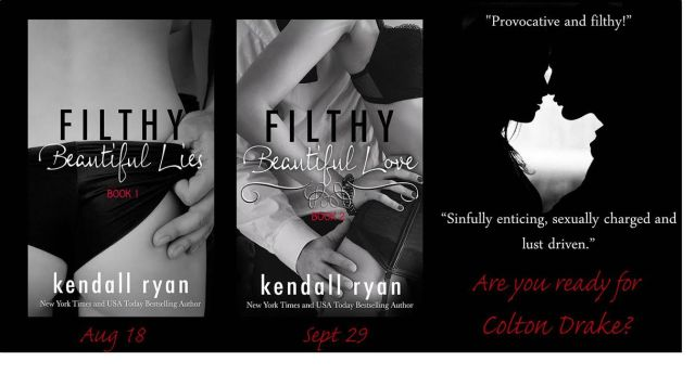 filthy beautiful lies and love covers and teaser pic