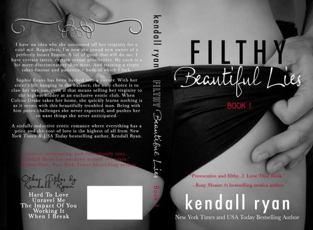 filthy beautiful lies back cover