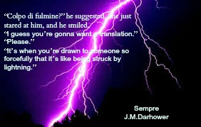 lightning strike pic quote sempre