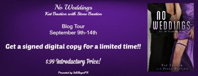no wedding blog tour banner