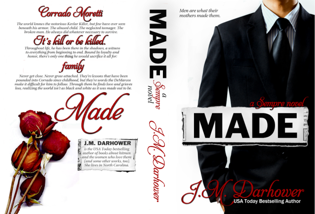 Made Cover & back cover JM Darhower