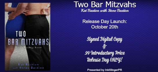 two bar mitzvahs release day launch