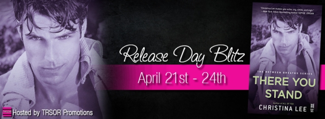 there you stand release day blitz banner