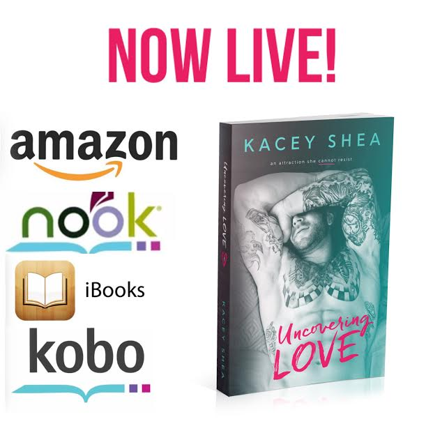 uncovering love release day banner