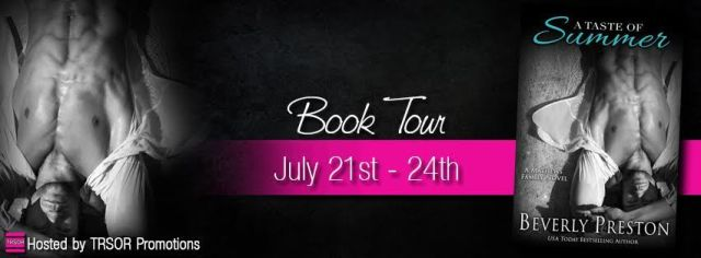 a taste of summer blog tour banner