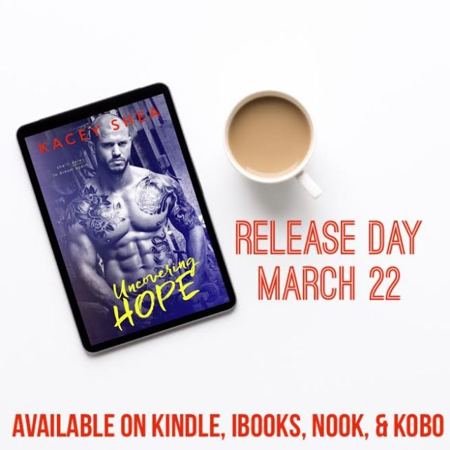 uncovering hope release day